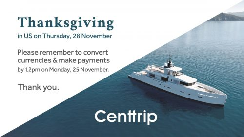 Centtrip and Thanksgiving